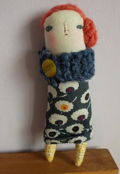 Little Palm Art doll ooak by maidolls on Etsy, £25.00