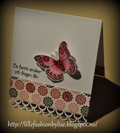 card made by me. please visit my site at http://lillefashion.by.lise.blogspot.no/