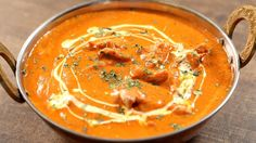 Learn how to make Butter Chicken, an heavenly chicken gravy recipe by Chef Varun Inamdar. Butter Chicken is probably one of the most popular Indian chicken recipes liked by all & hence chef Varun Inamdar brings Chicken Tikka Masala, Chicken Butter Masala, Poulet Tikka Masala, Indian Butter Chicken, Chicken Curry, Garam Masala, Chicken Gravy, Recipe Of Butter Chicken, Foods