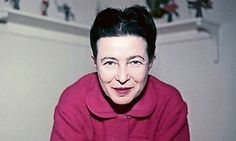 "Simone de Beauvoir. ""One is not born, but rather becomes, a woman."" Woman, she observes, is the Other, the exception, the oddity – allowing Man to become the unexamined default form of humanity. De Beauvoir compares women's oppression to that of Jews, the US's black population, the proletariat and colonised nations, but she concludes that sexism is a unique force because women live with, even love, their oppressors."