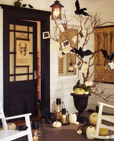 obsessed with halloween/fall decor sorry bout it