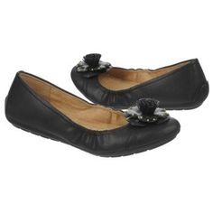 Women's Naturalizer Unite Flat Black Shoes.com