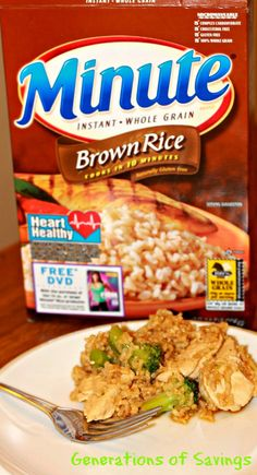 Check out this EASY Chicken Teriyaki and Brown Rice Recipe #LoveEveryMinute http://generationsofsavings.com/2013/03/chicken-teriyaki-with-brown-rice-recipe-loveeveryminute.html