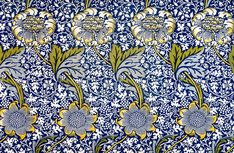Kennet by William Morris. Original from The Birmingham Museum. Digitally enhanced by rawpixel. | free image by rawpixel.com Arts And Crafts Movement, William Morris Patterns, Birmingham Museum, Fabric Lampshade, Chrysanthemum Flower, Cleveland Museum Of Art, Pre Raphaelite, Pattern Illustration, Free Illustrations