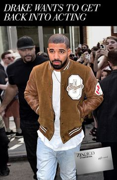 Drake is well known for his music, but did you know he got his start acting? His first taste of the spotlight was on a Canadian teen soap opera. After a recent interview with W magazine it appears that Drake isn't done with acting. We're not sure what kind of part he could play, but we're dying to find out! Read the rest of our take on this news and find a code for $35 off a purchase 10/26/2015 - 11/5/2015.