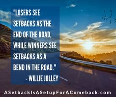 Do you know the difference between winners & losers? #DailyMotivation #Motivation #Inspiration #Success #LifeLessons #QuotesToLiveBy #Winners #ASetbackIsASetupForAComeback