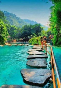 The Most Inspirational Travel Through The Rock Walkway A Must Visiting Place Beautiful Places To Travel, Beautiful Beaches, Cool Places To Visit, Places To Go, Romantic Travel, Vacation Places, Dream Vacations, Vacation Spots, Vacation Trips