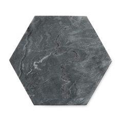 Williams Sonoma Marble Hexagon Trivet, Grey | Williams Sonoma