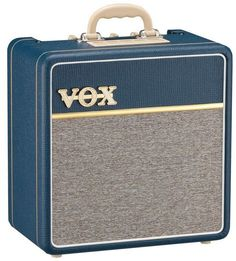 LUNCH BOX LOOK to this #Vintage #Vox amp - AC4C1-BL Electric Guitar Amplifier | 1X10 Tube Amp