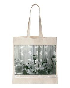 a4cb84b34e Patrice Émery Lumumba giving interview. printed Tote bag Printed Tote Bags