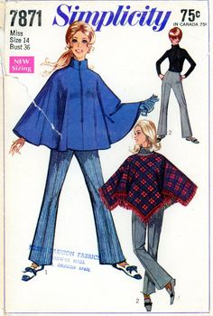 Bell Bottoms and Ponchos.... been there, done that! :)