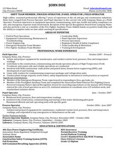 click here to download this process field operator resume sample - Oil Field Engineer Sample Resume