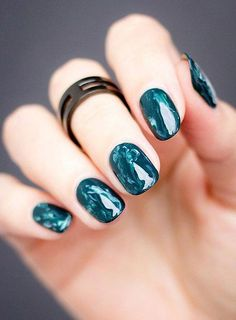 52 Water Marble Nail Art Designs,Pick Your… – Adela Davis 52 Water Marble Nail Art Designs,Pick Your… 25 Marble Nail Design with Water & Nail Polish Nail Art Designs, Marble Nail Designs, Nails Design, Nail Art Diy, Diy Nails, Navy Nail Art, Subtle Nail Art, Water Marble Nail Art, Marble Nail Polish