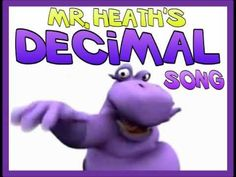 MATH Songs. Yes, even decimals deserve their own song!