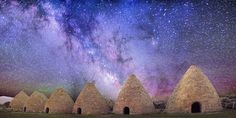 Milky Way Over Abandoned Kilns   Image Credit: Tom McEwan