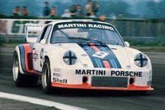 Jochen Mass on the absolute limit with the luscious Martini Porsche 935 at the Silverstone 6 Hours, Porsche 911, Porsche Carrera, Porsche Modelos, Scalextric Cars, Mercedes Wallpaper, Racing Team, Auto Racing, Drag Racing, Classic Race Cars