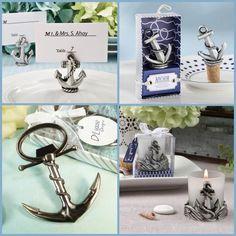 anchor Nautical Wedding Favors, Nautical Theme, Anchor Party, Beach Themes, Party Favors, Party Themes, Place Card Holders, Sailboat, Cruise