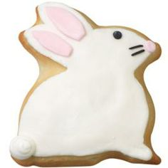 How to Decorate Bunny Cookie