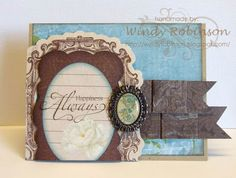 Into the Woods: Card Making 101/ BoBunny Designer Challenge
