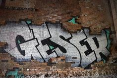 GESER @letterscience  _______________________ #madstylers #graffiti #graff  #style #chrome #stylewriting #idea