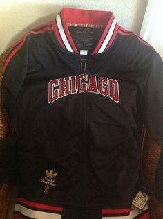 NBA Chicago Bulls Adidas Legendary New Jacket Derrick Rose #1 Size M Mens in Sports Mem, Cards & Fan Shop, Fan Apparel & Souvenirs, Basketball-NBA   eBay