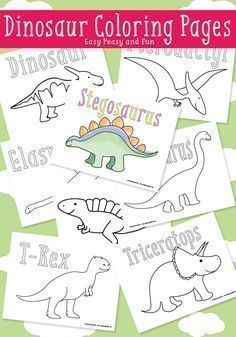 Printable Dinosaur Coloring Pages For Kids Malvorlage Dinosaurier