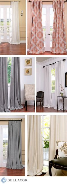 Add warmth and style to your home for the holidays with window treatments that keep it cozy for you and guests. Save up to 70% at Bellacor with free shipping on orders over $75 and a price match guarantee. http://www.bellacor.com/window-treatments.htm?partid=social_pinterestad_holiday_windowtreatments