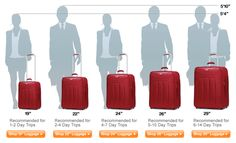 Luggage Online offers a size chart (and Carry-On Luggage Regulations for each airline too). Luggage Shop, Luggage Sizes, Best Luggage, Carry On Luggage, Luggage Online, Carry On Bag, Packing Tips For Travel, Travel Advice, Travel Essentials
