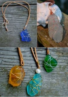 Simple Technique in Making Beach Glass Jewelry