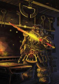 m Dwarf Blacksmith