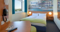 Zweibettzimmer im B&B #Hotel #Kassel