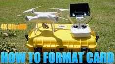 How to Format DJI Phantom 4 Memory Card - http://dronewithcamera.store/how-to-format-dji-phantom-4-memory-card/