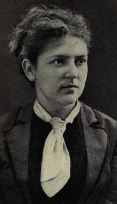 Fanny Vandegrift - Stevenson. Wife of Robert Louis Stevenson and my beloved cousin. My fondest genealogical discovery, and there is a very strong resemblance between she and I.