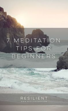 In simplest terms, meditation is about completely focusing one's attention on a single object, concept, or action. There are several different ways to meditate, and many different belief systems built around different kinds of meditation, but in a nutshell, that is all that meditation is. Here are 7 meditation tips for beginners.