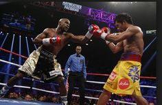 Live boxing ,  in Las Vegas