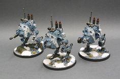 40k - Imperial Guard Sentinels by killawombat75
