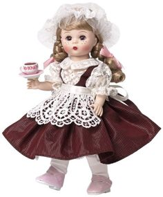 Madame Alexander Burgundy Lace Outfit Only No Doll Tagged Belgium Complete Costumes Around The World, School Dresses, Lace Outfit, Madame Alexander Dolls, Hand Puppets, New Dolls, Vintage Dolls, Antique Dolls, Beautiful Dolls