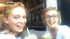 Juice baby smoothie times at a fab place on the Kings Road #Juicebaby with my lovely friend.