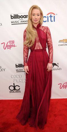 billboard music awards 2014 iggy azalea red carpet