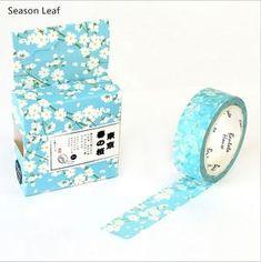 15mmX10M Pure Color White Black Decorative Washi Masking Tape Gift