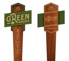 Hops & Grain Brewery Tap Handles