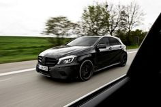 A45 AMG  The new all wheel drive compact from Mercedes-Benz with precision performance