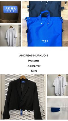 The atmosphere in ANDREAS MURKUDIS captures a freedom and tranquility that sets it apart from the usual, fast-paced retail world. Ader, Menswear, Unisex, Digital, Coat, Jackets, Fashion, Down Jackets, Moda