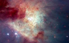 Hubble The Great Nebula in Orion. or NGC is seen with the naked eye as the middle 'star' in the 'sword' that hangs from Orion's Belt. - Twenty-five years of the Hubble Space Telescope shows us how epic space truly is. Star Formation, Cosmos, Orion Nebula, Andromeda Galaxy, Constellation Orion, Helix Nebula, Carina Nebula, Space Photos, Hubble Images
