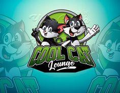 Logo design Cat Logo, Cool Cats, Your Design, Animation, Graphic Design, Cartoon, Cool Stuff, Logos, Drawings