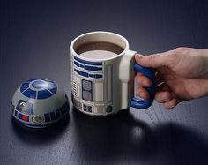 Bom dia pros nerds apaixonados por café e por canecas ☕☕☕ #coffee #cafe #coffeelover #coffelovers #morning #goodmorning #r2d2 #droid #starwars #sw #caneca #presentescriativos #canecaspersonalizadas #lightside #jedi #nerd #geek #startnerd