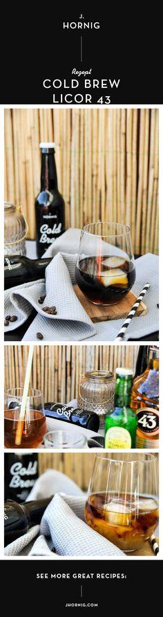 Du bist auf der Suche nach einem tollen #Cocktailrezept? Mit dem Cold Brew Licor 43 wird nicht nur die Stimmung lockerer, er lässt dich auch die ganze Nacht durchtanzen! Das einfache Rezept findest du in diesem Beitrag.   #coldbrew #coffee #kaffee #cocktail #cocktails #easy #trinken #party #partyideas