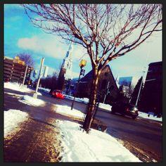 Centre-ville de Rimouski Bas Saint Laurent, Destinations, Centre, Times Square, Travel, Paisajes, Places, Mountains, Tourism