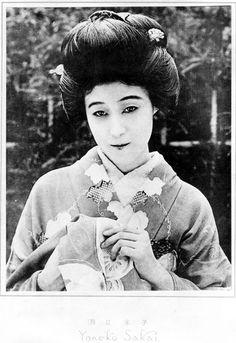 Sakai Yoneko (酒井米子) 1898-1958, Japanese Actress