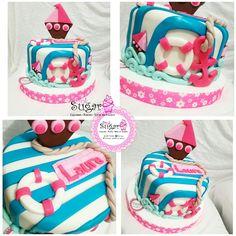 P266 torta marinero pinksugar#pinksugar #cupcakes  #barranquilla #pasteleria #reposteriacreativa #tortas #fondant #reposteriabarranquilla #happybirthday  #vainilla  #cake #baking  #galletas #cookies  #buttercream #vainilla  #oreo  #cupcakesbarranquilla #brownie #brownies #tortasbarranquilla #marinecake #marinero